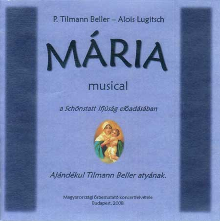 Mária musical CD